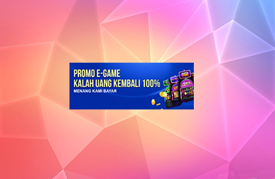 CASHBACK 100% E-GAMES PLAYTECH